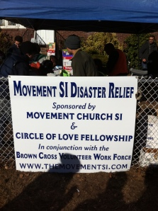 Movement Staten Island Disaster Relief