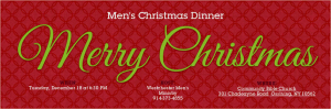 Christmas, dinner, Men, 2012, Westchester, NY
